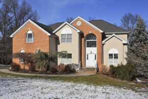 newer colonial, cul de sac, open house